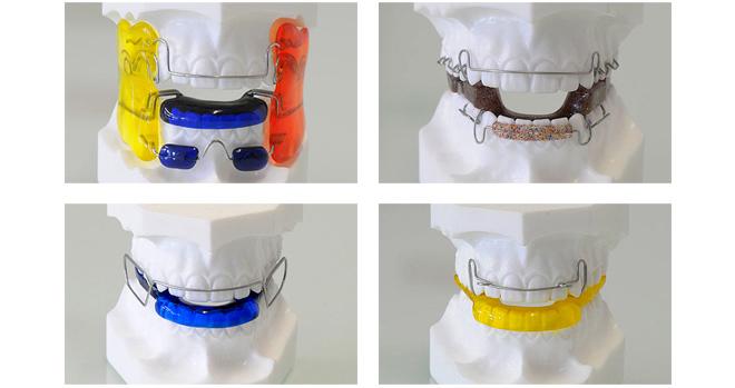 Пластина для зубов трейнер 34